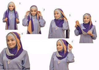 Cara Memakai Jilbab Terbaru 2013