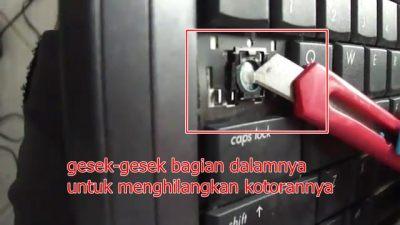 Cara service Keyboard Laptop Rusak