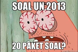 Soal UN SMA 2013