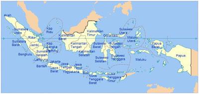 Nama Provinsi dan Ibukota Indonesia