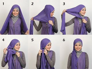 Cara Memakai Jilbab Hijab Style terbaru