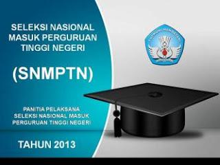 Informasi SNMPTN Tahun 2013