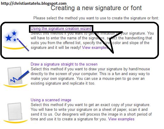 tanda tangan